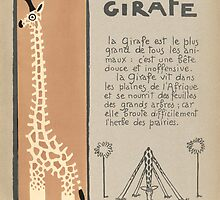 La Girafe (The Giraffe) by Andre Helle by bluemonocle