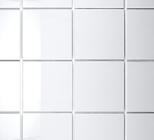 white Tile background by carloscastilla
