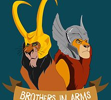 Brothers in Arms by shaylayy