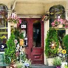 Flower Shop With Birdhouse Strasburg PA by Susan Savad