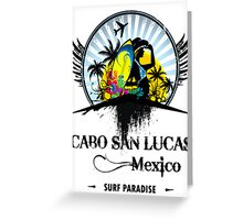 Cabo Mexico Tour Greeting Card
