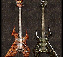 Duet Death Metal Guitars by Bluesax