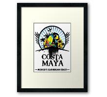 Costa Maya Framed Print
