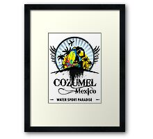Cozumel Mexico Summer Place Framed Print