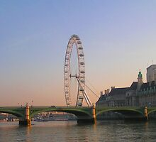 The London Eye by looneyatoms