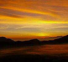 Embers of Dawn, Bromo Indonesia by Cherrybom