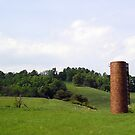Silo on Our Way to Roanoke, Va by BCallahan