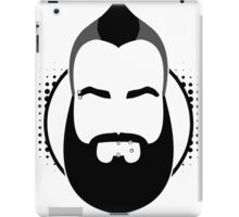 grumpyhawk collective logo iPad Case/Skin