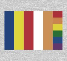 LGBT Buddhist Flag by cadellin