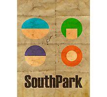 South Park [Minimalist] Photographic Print