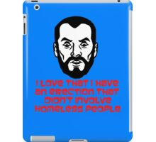 ...Homeless People iPad Case/Skin