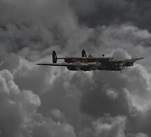 Halifax  -  RAF Heavy Bomber by Pat Speirs