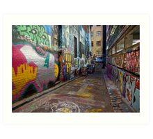 Urban Colour Art Print