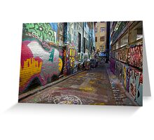 Urban Colour Greeting Card