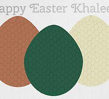 Happy Easter Khaleesi by believeluna