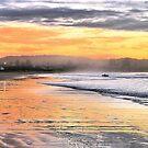 Sunrise Surfer by George Petrovsky