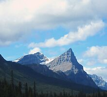 Icefields Parkway in the Fall by justineb