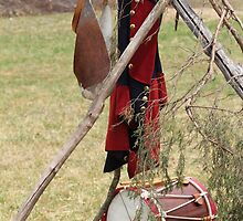 French and Indian War Drum and Uniform by krishoupt