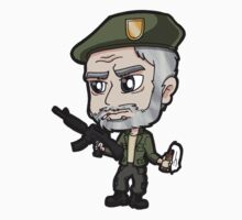 L4D1 - Bill Chibi by Zphal