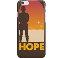 Hope - Tatooine's New Hope! iPhone Case/Skin