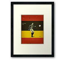Cantona Framed Print