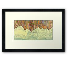 Ridge Framed Print