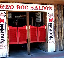 THE RED DOG SALOON JUNEAU ALASKA by JAYMILO