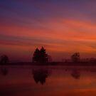 Sunrise Picardy by Paul Holman