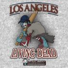 Los Angeles Living Dead - Zombie League Baseball by johnmarinville