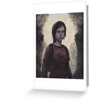The Last Of Us Ellie Greeting Card