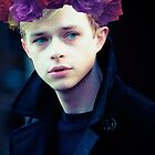Dane DeHaan and his flower crown by molley13