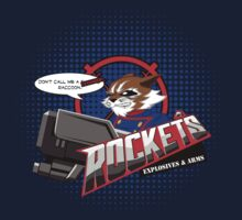 Rocket's Explosives and Arms by tweedler92