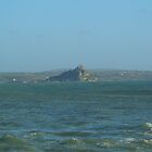 The Mount stuck out at sea. by molley13