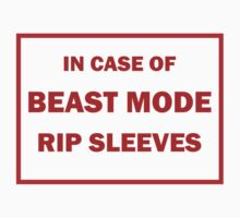In Case of Beast Mode by skyhimonkey