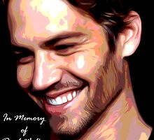 R.I.P. Paul Walker by andrewtylerrose