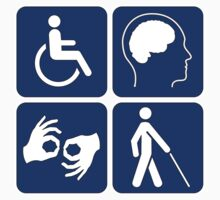 Disability Sign by cadellin