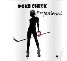 Poke Check Professional Poster