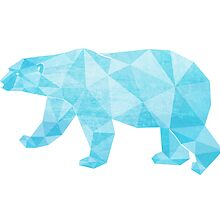 Geometric Ice Bear by daanannemans