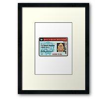 License To Kill Framed Print