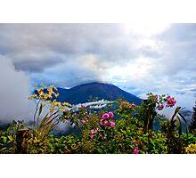Tungurahua Volcano In The Ecuadorian Andes Photographic Print