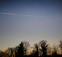 Vapour Trails.  by OliverPringle
