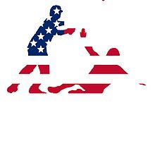Baseball Double Play America's Game by kwg2200