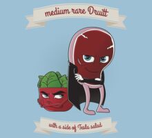 Medium Rare Druitt - Tee by squidesign