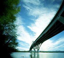 Crown Point Bridge 2, Vermont by HagstarStudios