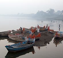 On The Banks Of Chandrabhaga River by sriarts