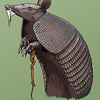 Wise Armadillo by crabro
