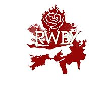 RWBY red rose Photographic Print