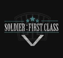 FFVII: Soldier : FIrst Class by Daniel Bradford