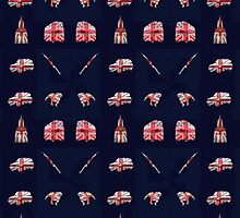 Everything British Phone Case by EMAGICSTUDIOS