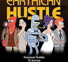 Earthican Hustle - parody movie poster B by lavalamp
